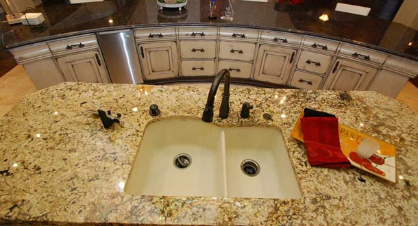how to install tile countertops in the kitchen